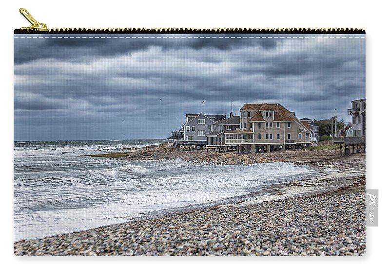 Egypt Beach Scituate Massachusetts Carry All Pouch For Sale By Brian Maclean