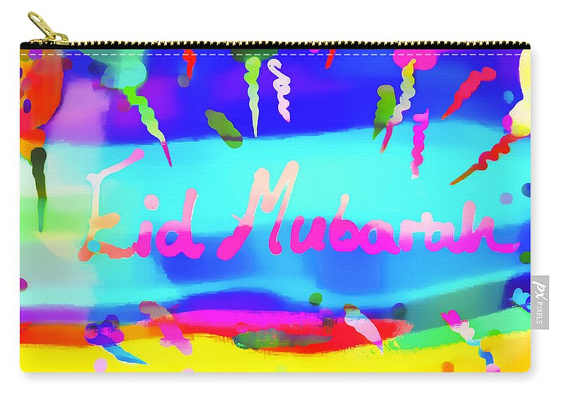 Abstract Carry-all Pouch featuring the photograph Eid Moubarak by Tom Gowanlock