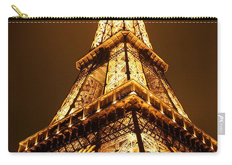 Eiffel Carry-all Pouch featuring the photograph Eiffel by Skip Hunt