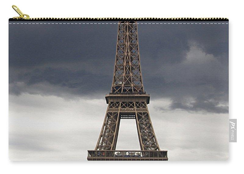 Paris Carry-all Pouch featuring the photograph Eiffel Tower. Paris by Bernard Jaubert