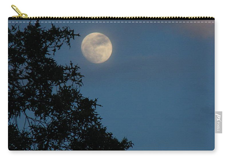 Patzer Carry-all Pouch featuring the photograph Eight Thirty Two Pm by Greg Patzer