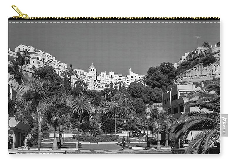 Mediterranean Carry-all Pouch featuring the photograph El Capistrano, Nerja by John Edwards