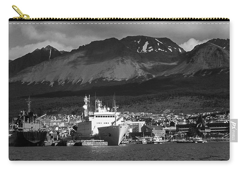 South America Carry-all Pouch featuring the photograph El Fin Del Mundo by Juergen Weiss