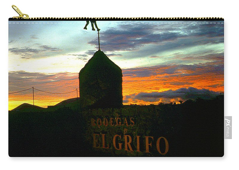 Lehtokukka Carry-all Pouch featuring the photograph El Grifo by Jouko Lehto