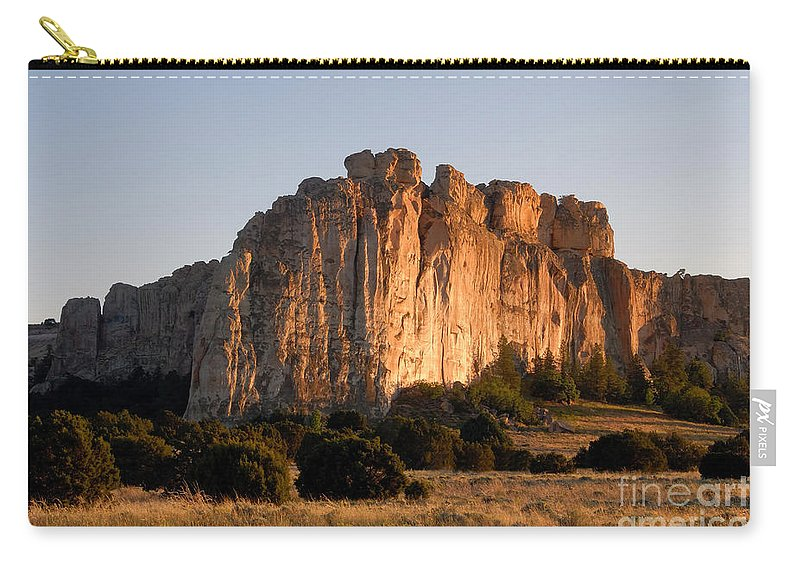 El Morro National Monument New Mexico Carry-all Pouch featuring the photograph El Morro by David Lee Thompson