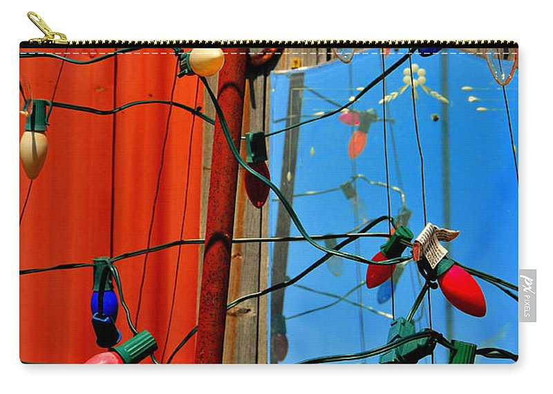 Skip Hunt Carry-all Pouch featuring the photograph Electric Lady Land by Skip Hunt