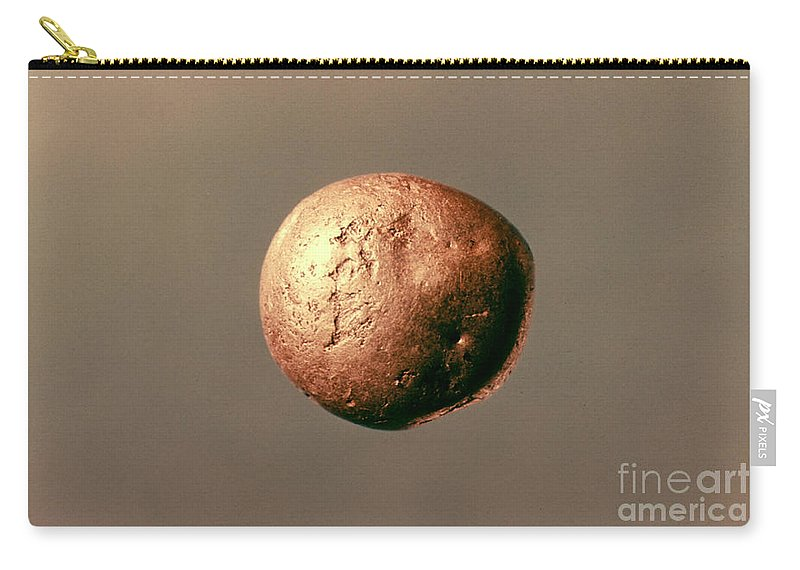 1100 B.c. Carry-all Pouch featuring the photograph Electrum Nugget, C1100 B.c by Granger