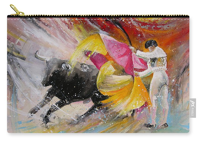 Animals Carry-all Pouch featuring the painting Elegance by Miki De Goodaboom