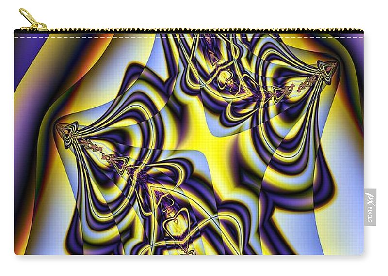 Elegance Carry-all Pouch featuring the digital art Elegance by Ron Bissett