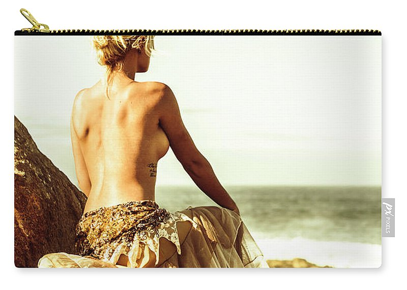 Freedom Carry-all Pouch featuring the photograph Elegant Classical Beauty by Jorgo Photography - Wall Art Gallery