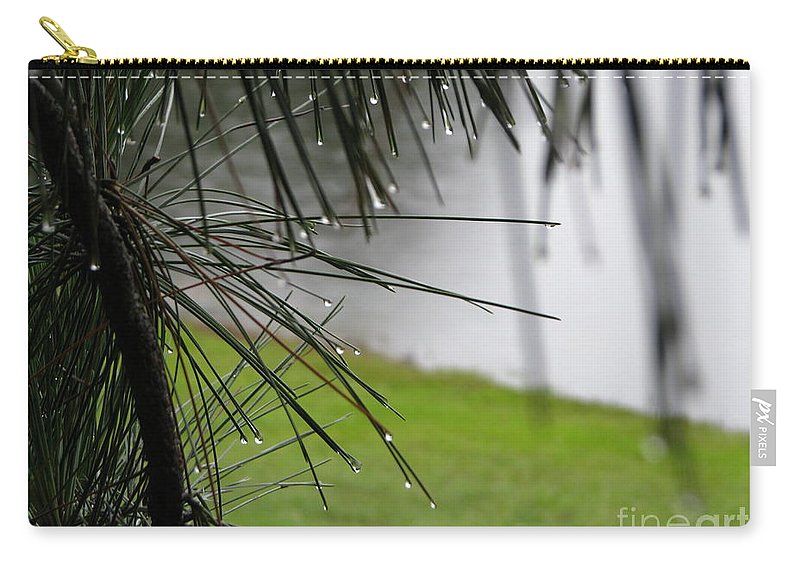 Lakes Carry-all Pouch featuring the photograph Elements by Greg Patzer