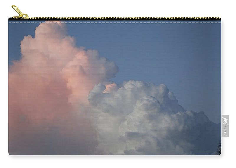 Clouds Carry-all Pouch featuring the photograph Elephant Cloud by Rob Hans