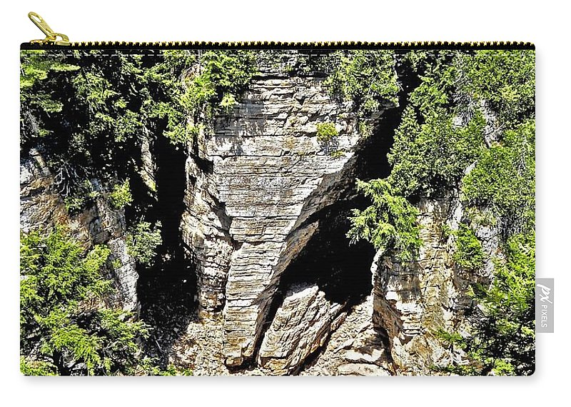 North America Carry-all Pouch featuring the photograph Elephant Head ... by Juergen Weiss
