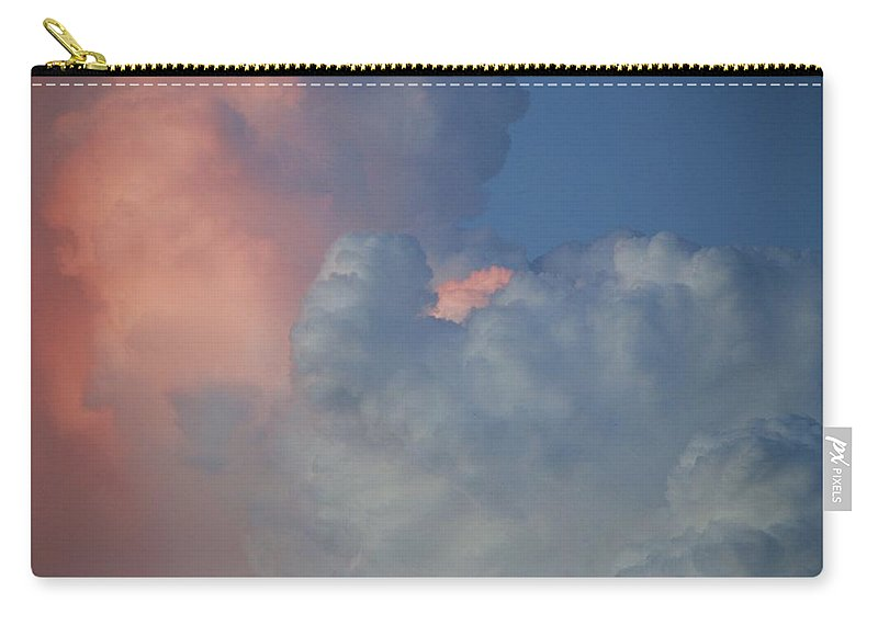 Clouds Carry-all Pouch featuring the photograph Elephant In The Sky by Rob Hans