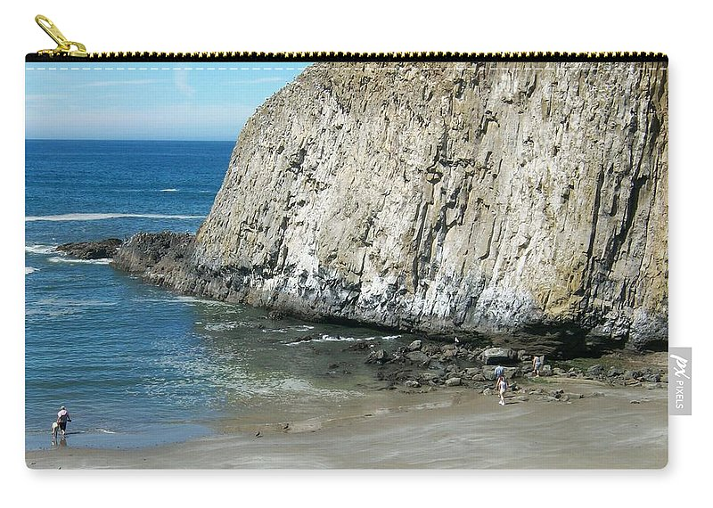 Photography Carry-all Pouch featuring the photograph Elephant Rock by Quin Sweetman