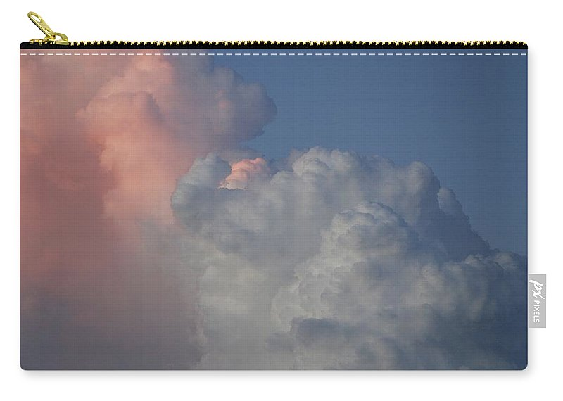 Clouds Carry-all Pouch featuring the photograph Elephant Sky by Rob Hans