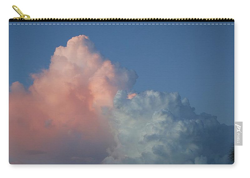 Clouds Carry-all Pouch featuring the photograph Elephants Clouds by Rob Hans