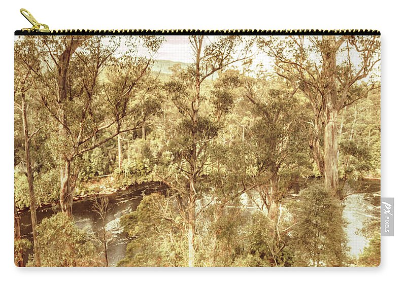 Huon Valley Carry-all Pouch featuring the photograph Elevated Country by Jorgo Photography - Wall Art Gallery