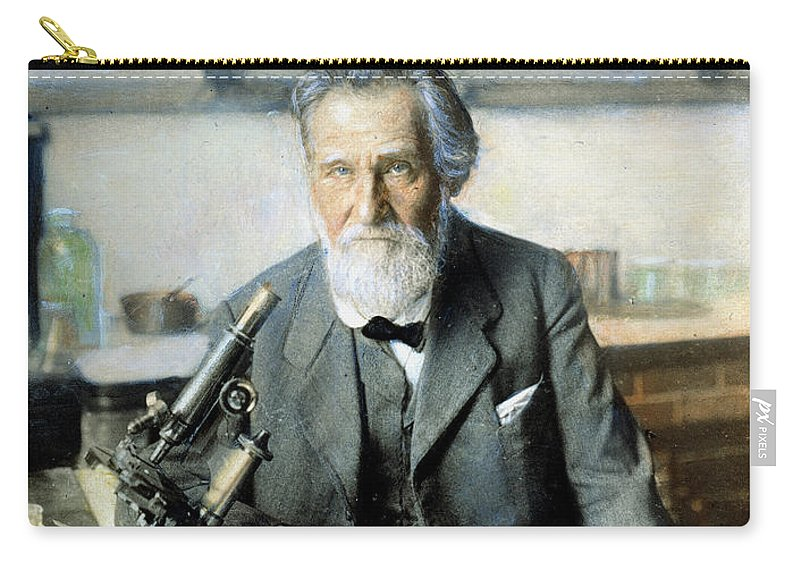 20th Century Carry-all Pouch featuring the photograph Elie Metchnikoff (1845-1916) by Granger