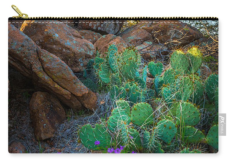 America Carry-all Pouch featuring the photograph Elk Mountain Flowers by Inge Johnsson