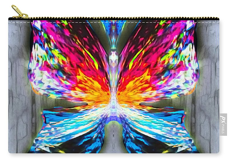 Angel Carry-all Pouch featuring the digital art Elm Sparklefrost by Raymel Garcia