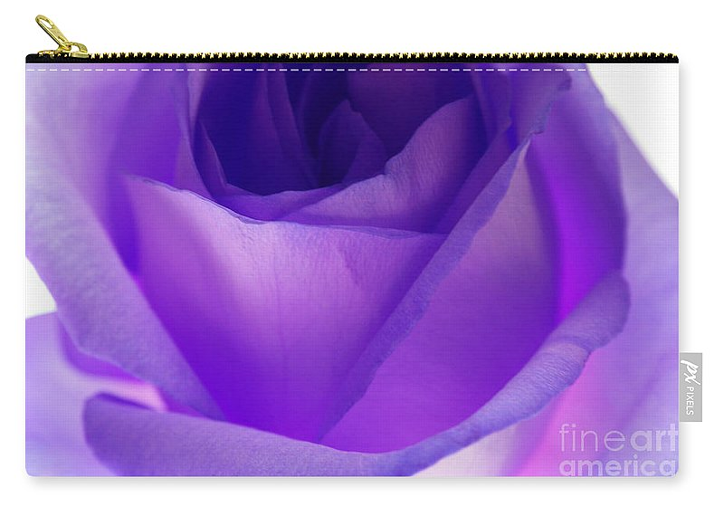 Rose Carry-all Pouch featuring the photograph Eloquent by Krissy Katsimbras