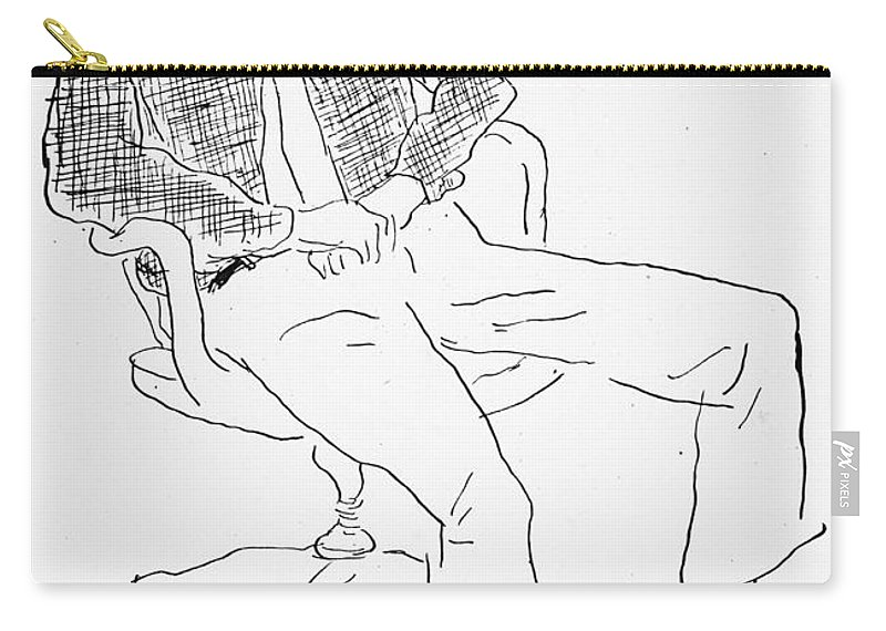 20th Century Carry-all Pouch featuring the photograph Elwyn Brooks White by Granger