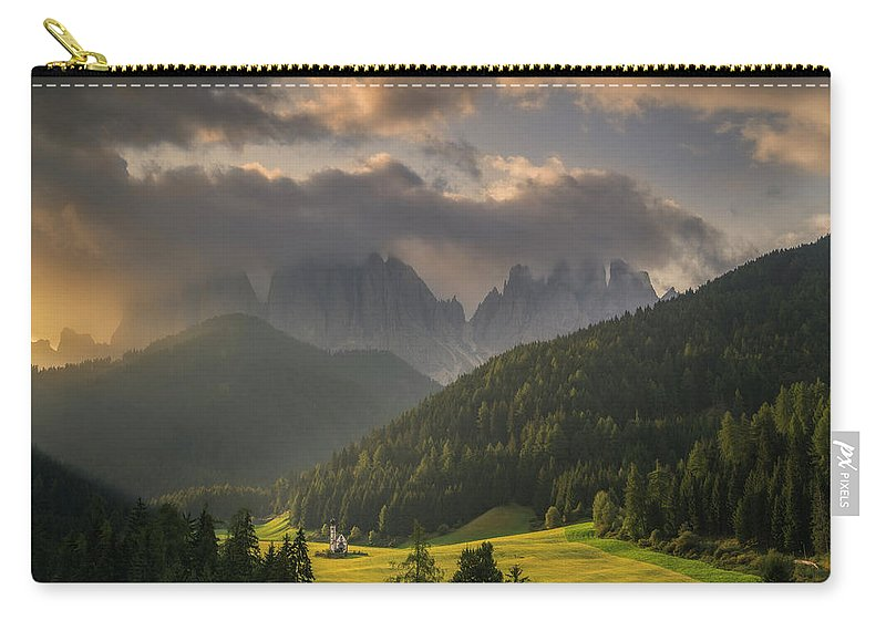 Awakening Carry-all Pouch featuring the photograph Embedded by Ludwig Riml