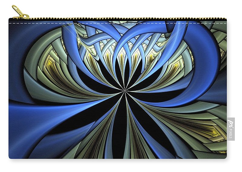 Digital Art Carry-all Pouch featuring the digital art Embedded by Amanda Moore