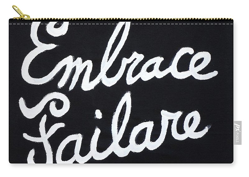 Failure Carry-all Pouch featuring the painting Embrace Failare by John Kilduff
