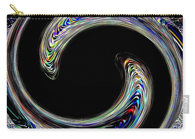 Embrace Carry-all Pouch featuring the digital art Embrace by Will Borden