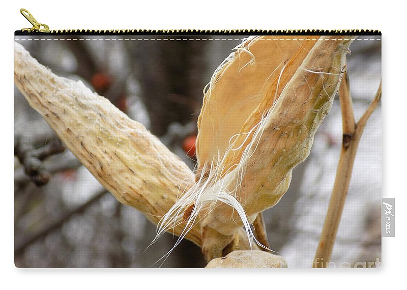 Seed Pod Carry-all Pouch featuring the photograph Empty Nester by William Tasker