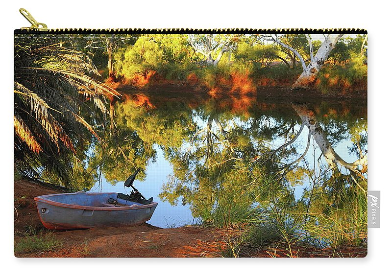 Western Australia Carry-all Pouch featuring the photograph Emu Creek Station 2am-111427 by Andrew McInnes