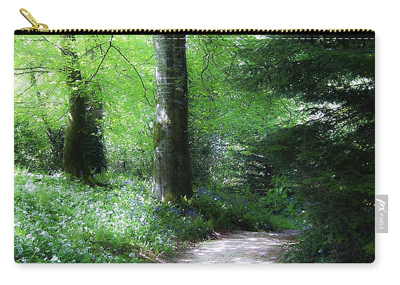 Ireland Carry-all Pouch featuring the photograph Enchanted Forest At Blarney Castle Ireland by Teresa Mucha