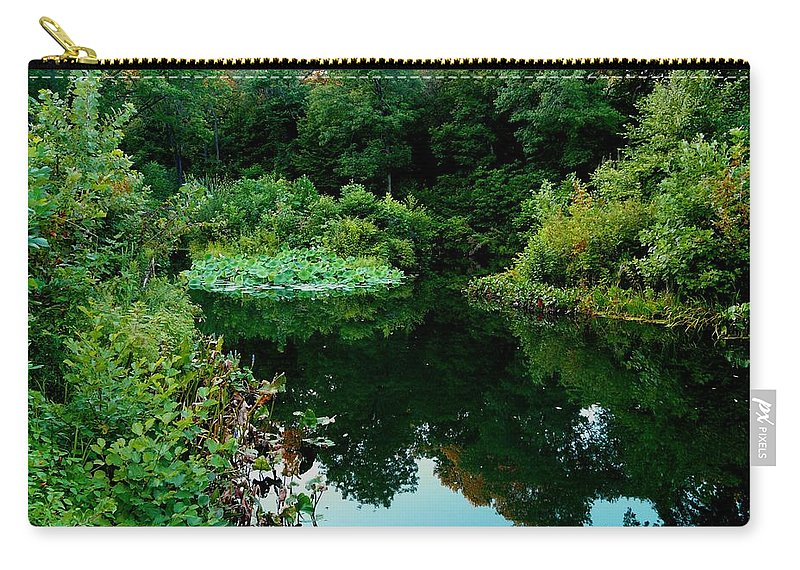 Garden Carry-all Pouch featuring the photograph Enchanted Gardens by Kendall Eutemey