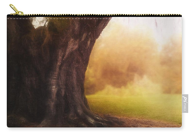 Tree Carry-all Pouch featuring the photograph Enchanted by Margie Hurwich