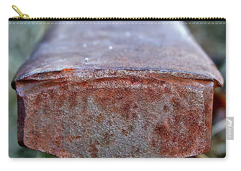 Rail Carry-all Pouch featuring the photograph End Of The Line by Rick Monyahan
