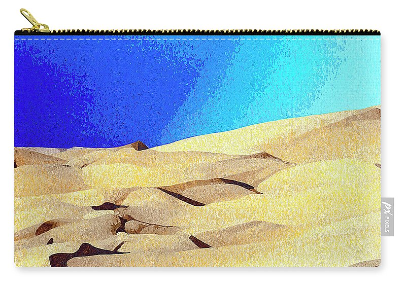 Desert Carry-all Pouch featuring the photograph Endless by Dominic Piperata