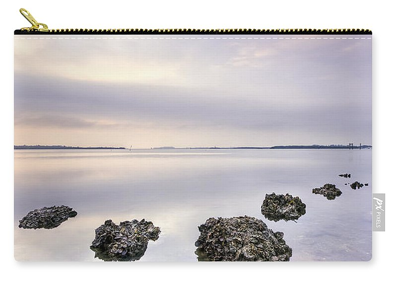 Rock Carry-all Pouch featuring the photograph Endless Echoes by Evelina Kremsdorf