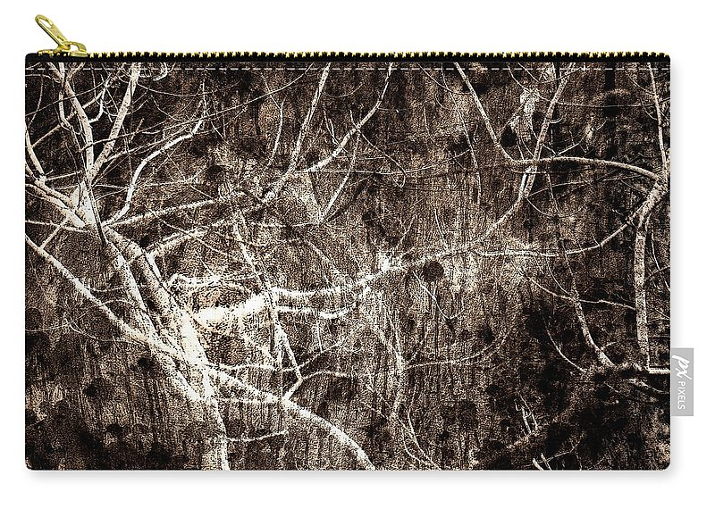 Tree Carry-all Pouch featuring the photograph Endless by Gaby Swanson
