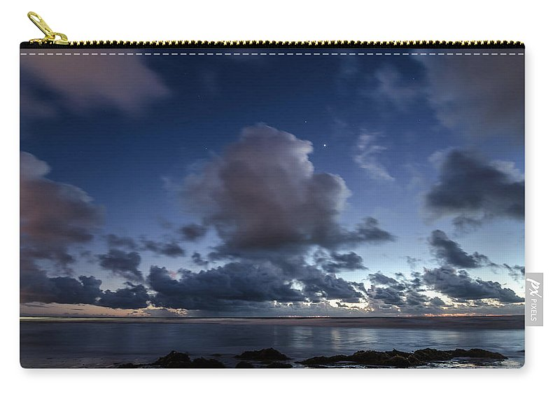 Clouds Carry-all Pouch featuring the photograph Endless Horizons by Margaret Pitcher