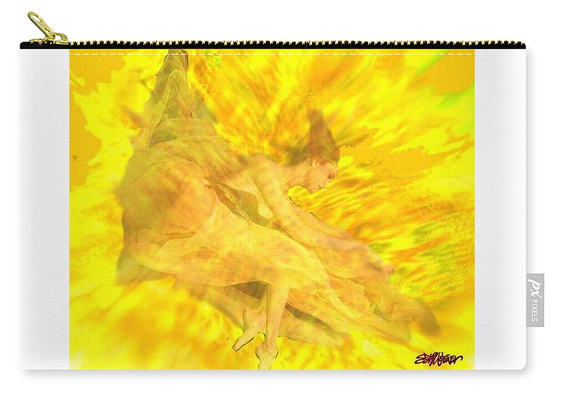 Joy Carry-all Pouch featuring the digital art Endless Joy by Seth Weaver