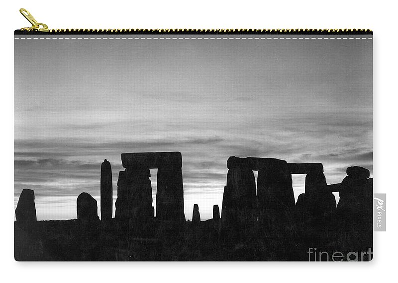 Ancient Carry-all Pouch featuring the photograph England: Stonehenge by Granger