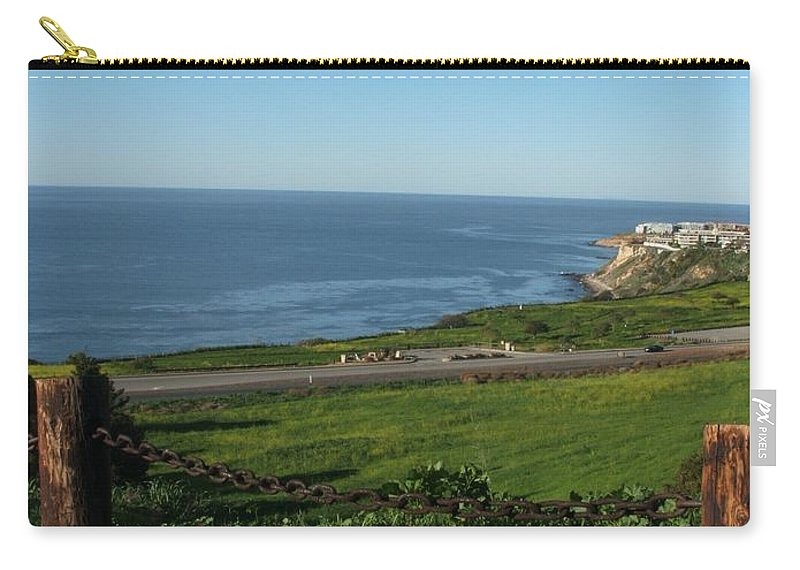 Ocean Carry-all Pouch featuring the photograph Enjoying The View by Shari Chavira