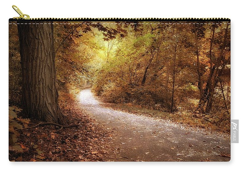 Autumn Carry-all Pouch featuring the photograph Enlightened by Jessica Jenney