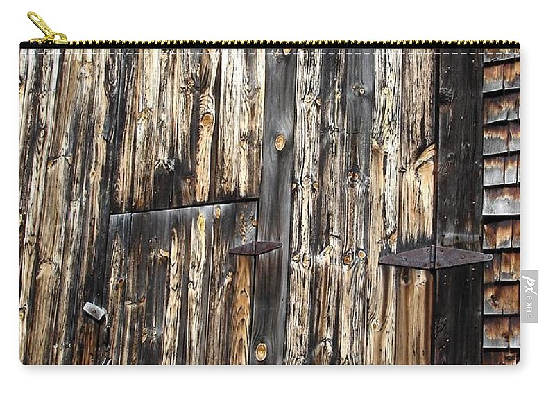 Barn Carry-all Pouch featuring the photograph Enter The Barn by Kerri Mortenson