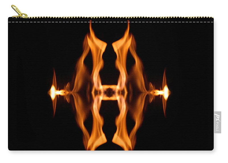 Dark Carry-all Pouch featuring the photograph Entrance To Darkness by Munir Alawi