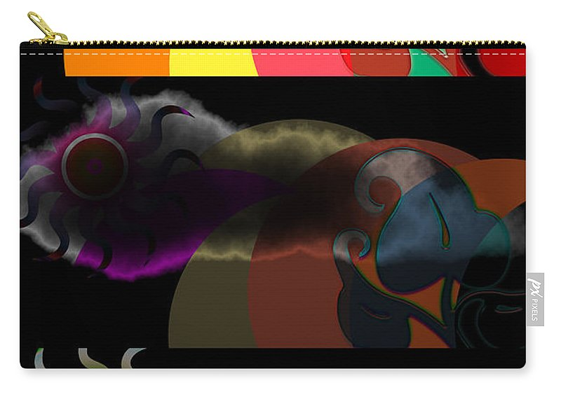 Carry-all Pouch featuring the digital art Environment by Clayton Bruster