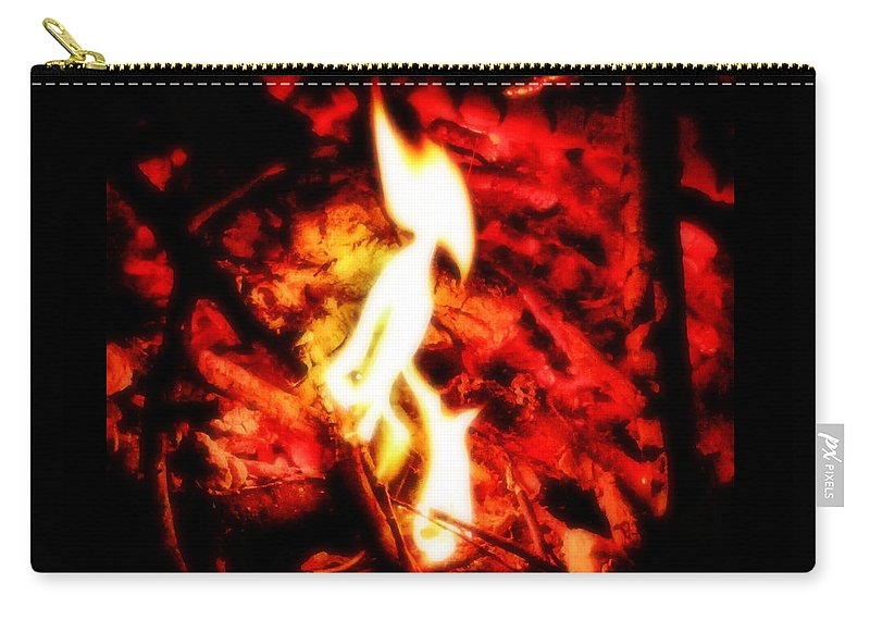 Fire Carry-all Pouch featuring the photograph Enya by September Stone