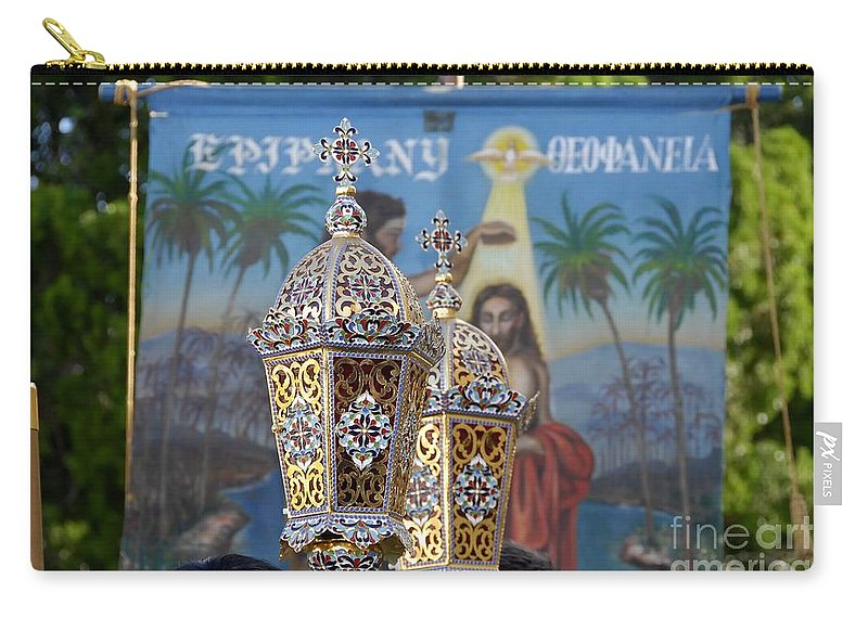 Epiphany Carry-all Pouch featuring the photograph Epiphany Celebration by David Lee Thompson